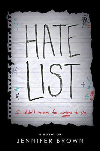 Hate List by Jennifer Brown, http://www.amazon.co.uk/dp/B00FORARPC/ref=cm_sw_r_pi_dp_x_DedqzbFQ5XNYX