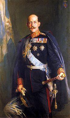 King Constantine I of Greece by Philip de László, 1914