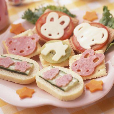 토루네 햄-치즈 동물모양 커터