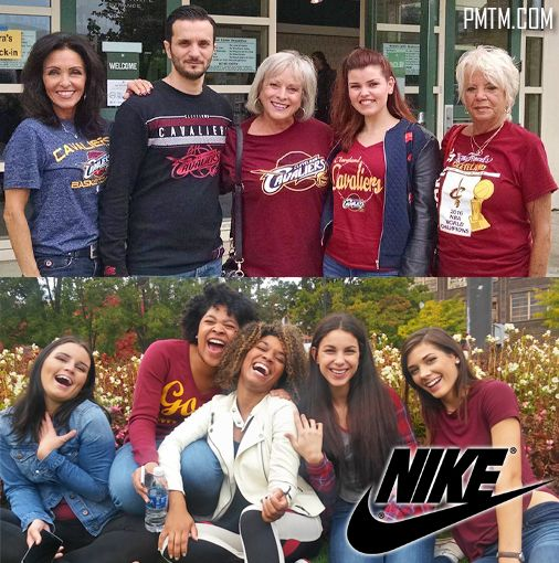 THROWBACK photos from #behindthescenes of our #nike #commercial we staffed!! #cle #cavs #cleveland #cavaliers #clevelandcavaliers #TV