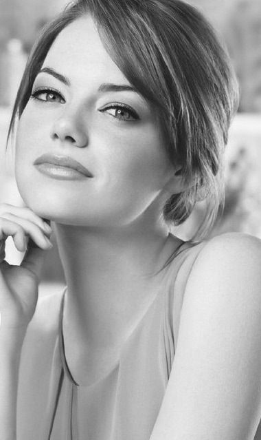 emma stone. - people tell me we resemble each other.  I'll take it!