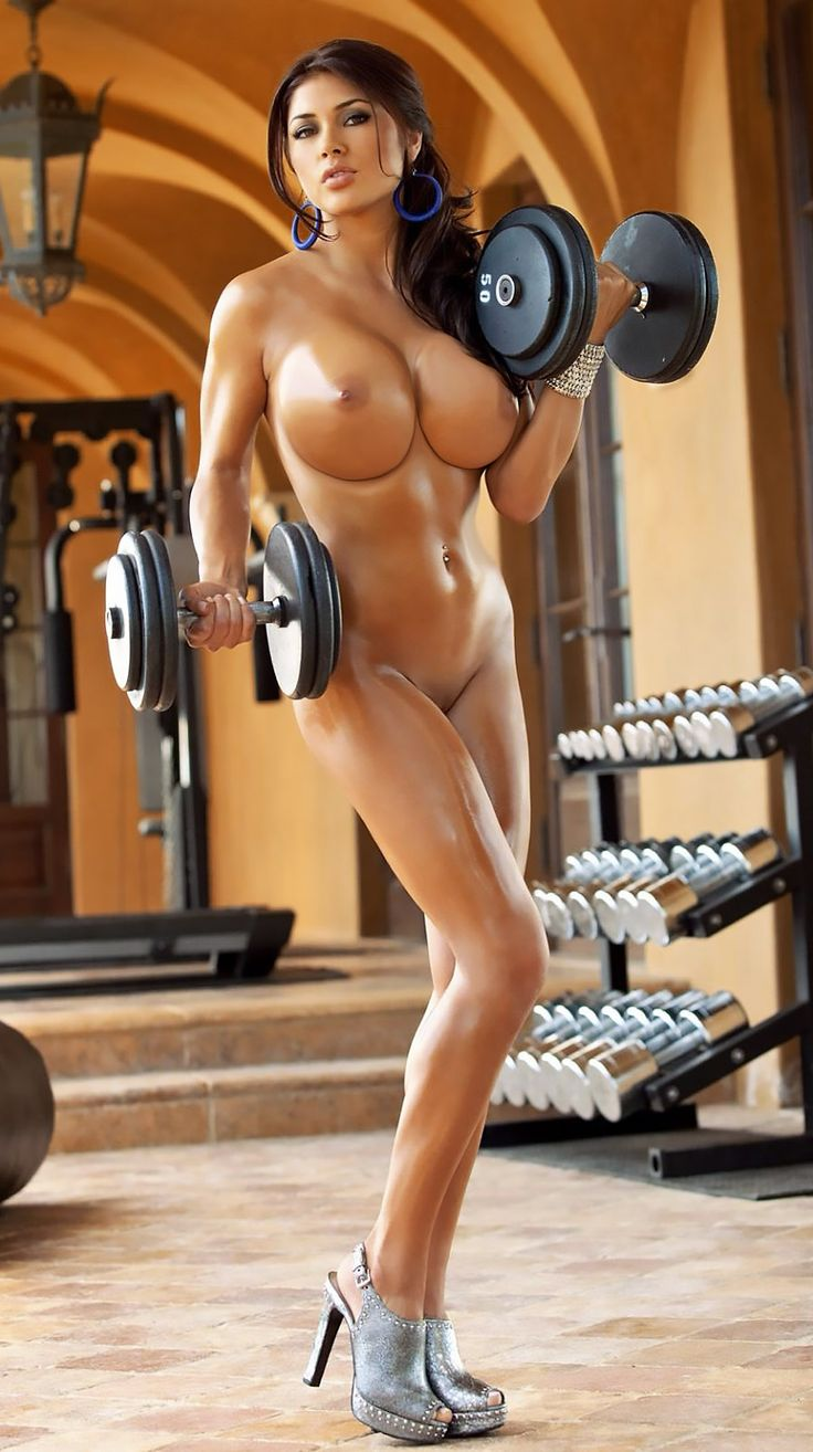 naked women at gym