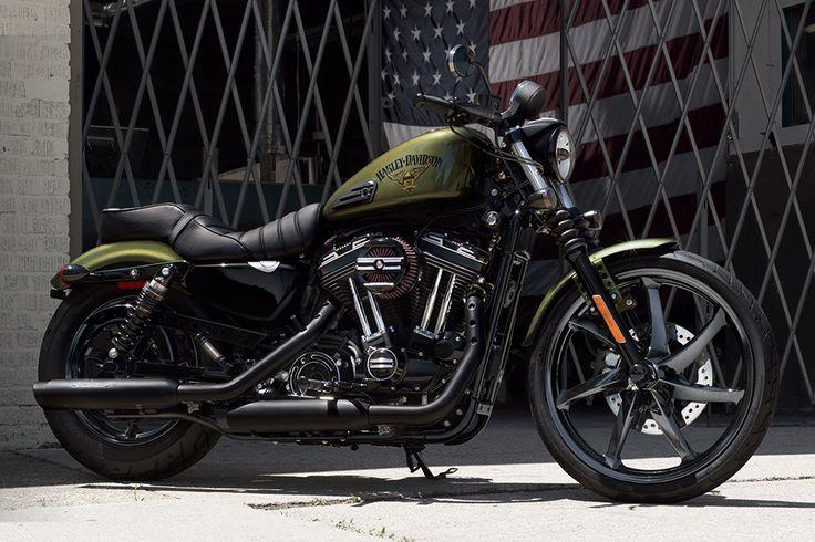 2016 Harley-Davidson® Sportster® Iron 883™ Motorcycles Photos & Videos