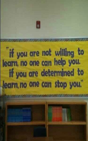 If you are determined to learn quote