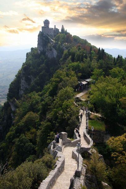 Rocca della Guaita, Castle in San Marino, Italy  50 minutes from Orvieto