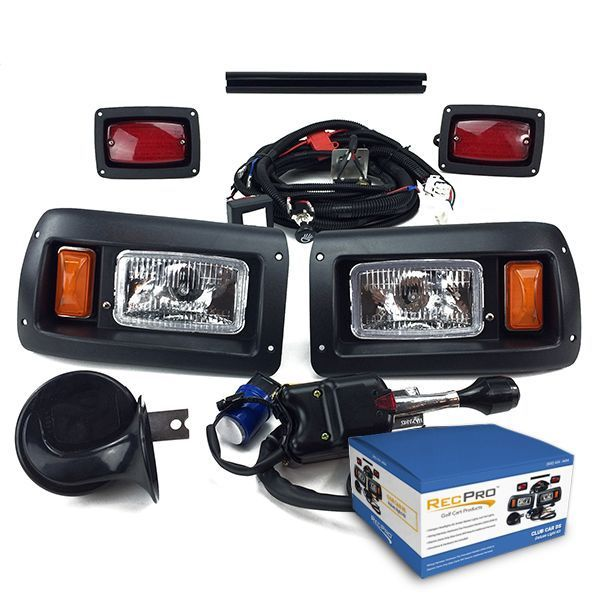 CLUB CAR DS GOLF CART DELUXE STREET LEGAL HALOGEN Light Kit 1993-UP – forklift parts and accessories