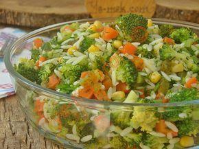 Şehriyeli Brokoli Salatası Resimli Tarifi - Yemek Tarifleri