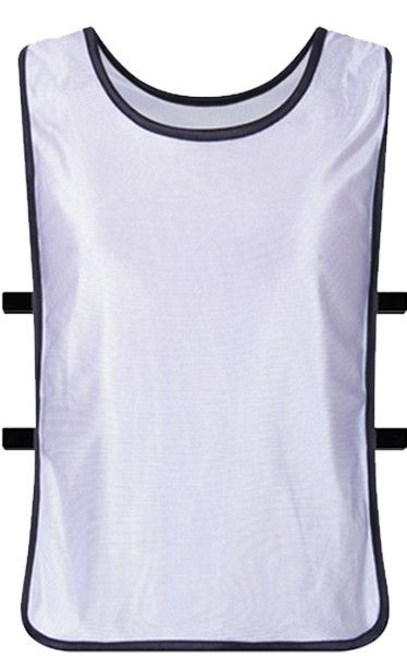 Mens Training Elasticated Bib Vests Multi Colours