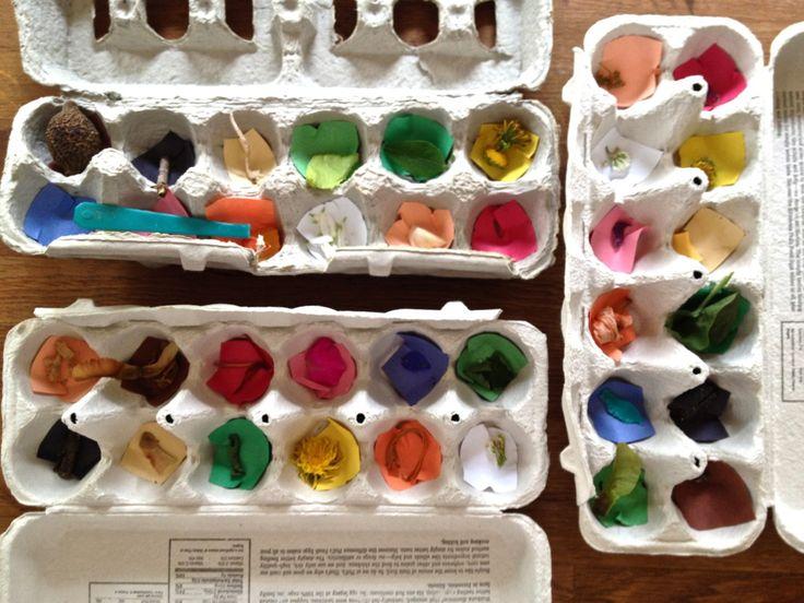 color coded scavenger hunt: Big Summer, Summer Journals, Blocks Parties Games For Kids, Summer Scavenger Hunt'S, Colour Codes, Eggs Cartons, Great Ideas, Colors Codes, Colors Scavenger