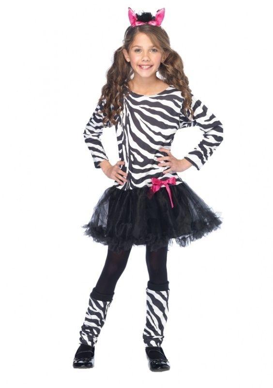Zebra jurkje girls