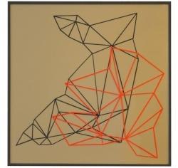 Komposition nr. 19, paper cut