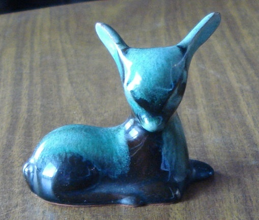 vintage blue mountain pottery figurine  by MaggiesCupboard2013