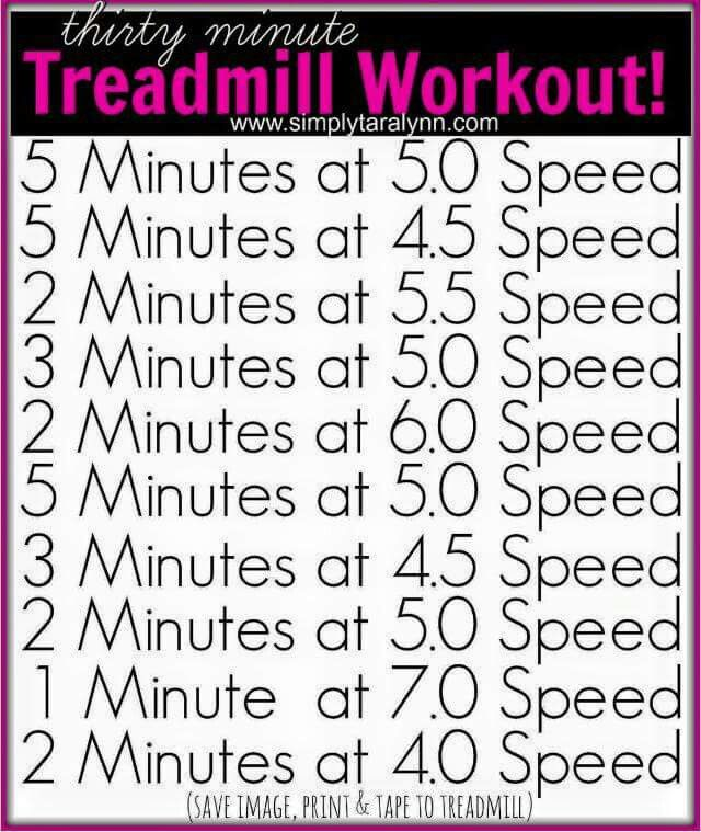 how to lose weight on a treadmill workout