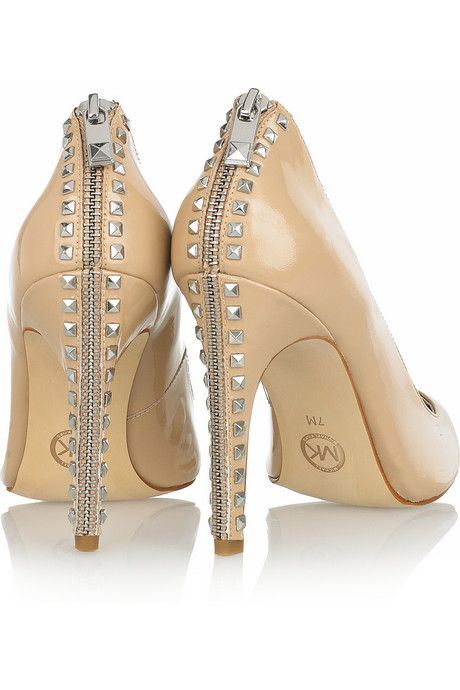 Michael Kors..these shoes just moved to the top of my Lust List......hmmm! Love at first zip.....