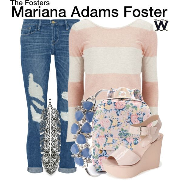 Inspired by Cierra Ramirez as Mariana Adams-Foster on The Fosters.