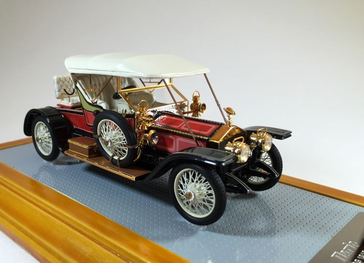 Ilario il094  1/43 Rolls Royce Silver Ghost 1910 Balloon Car sn1513 www.ilario.com