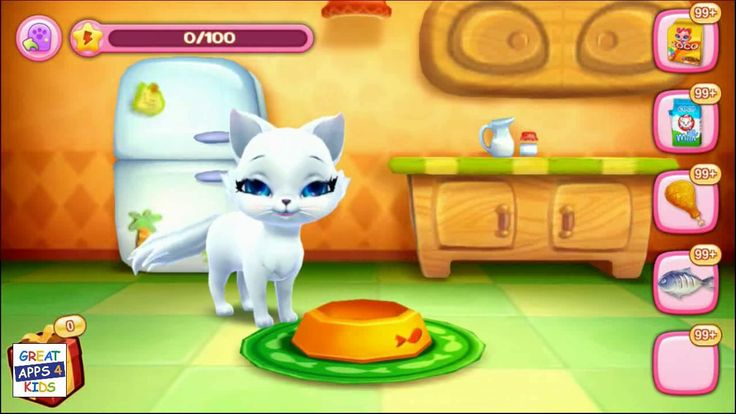 Kitty Love My Fluffy Friend (by Coco Play) | Pet Gameplay App for Kids