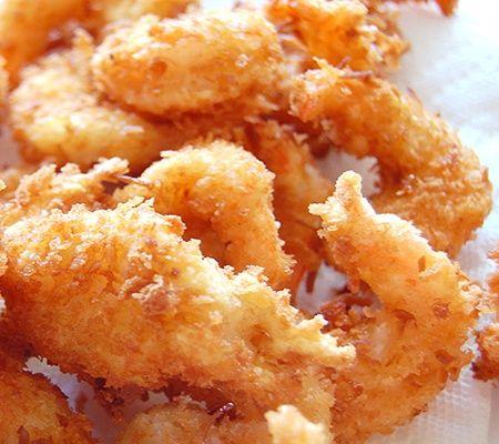 Crispy Coconut Shrimp Recipe | healthy eating | Pinterest