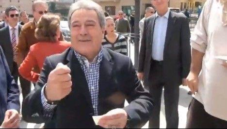 Xàtiva diu adéu a vint d'anys d'Alfonso Rus - VilaWeb, 24.05.2015