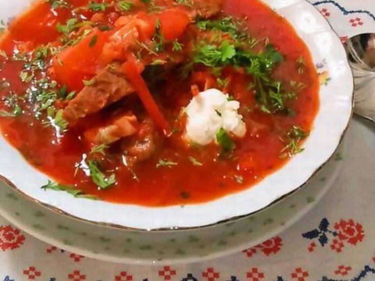 """ボルシチ """"Борщ"""" ~ ロシア/ウクライナ料理"""