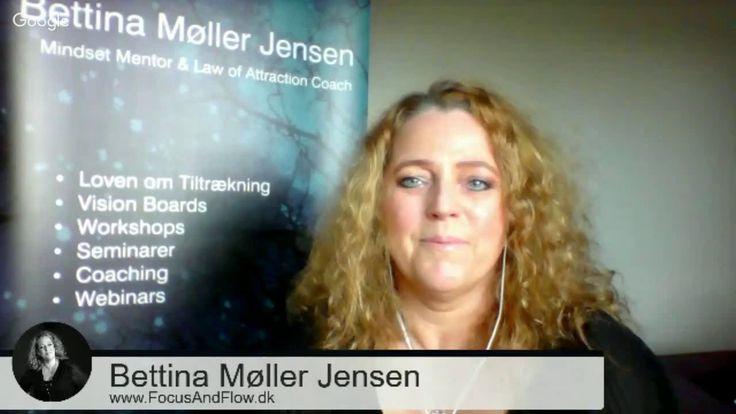 TIP # 1 Hvad er beviser på Loven om Tiltrækning? Bettina Møller Jensen f...