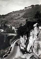 Flumet Pont de Belllecombe et Route de Megeve