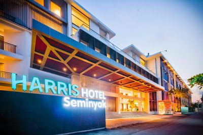 Bali Hotels, Villas, Tours and Travel Guides: Awesome Stay in Harris Hotel Bali