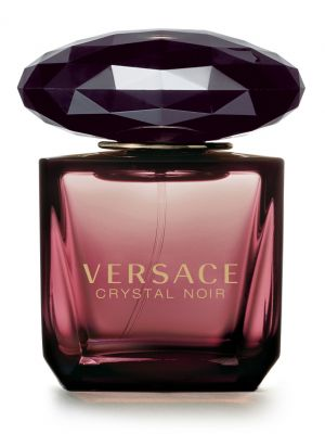 Crystal Noir Versace for women..  -  The central note of the composition is gardenia, fresh, sensual, luminous and creamy, reproduced by 'headspace' technology,. Amber and musk in the base make the scent dark and mysterious, very sensual and distinct.
