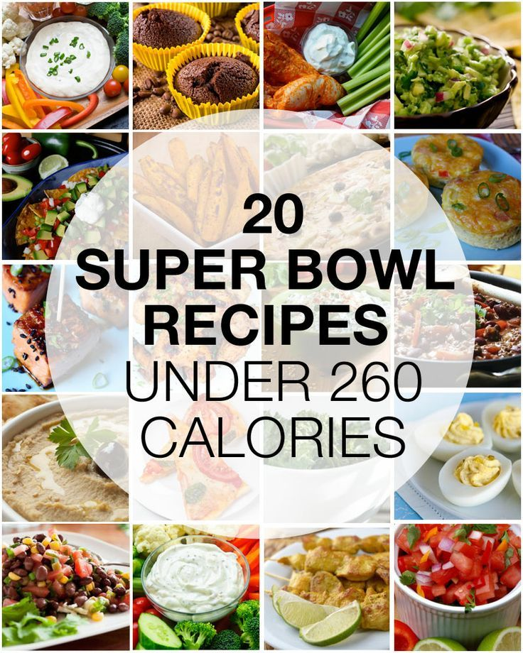 20 healthy recipes under 260 calories. All approved by our in-house RD.