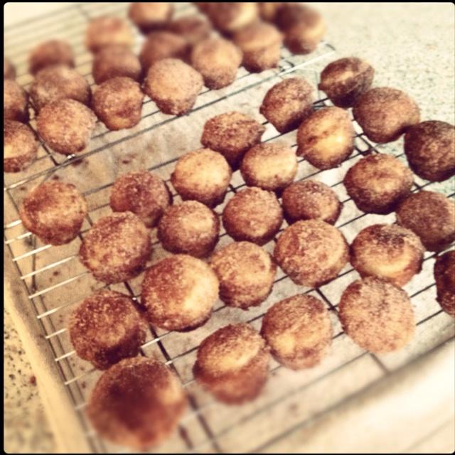 cinnamon-sugar doughnut muffins | Food :) | Pinterest