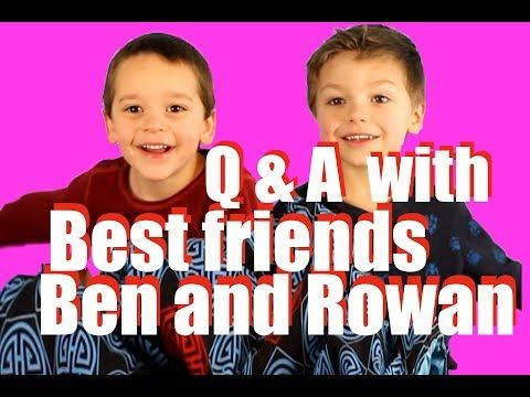 Best friends Ben and Rowan answer your questions! - YouTube