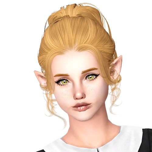 hair style back sims 3 updo hair www pixshark images galleries 5340