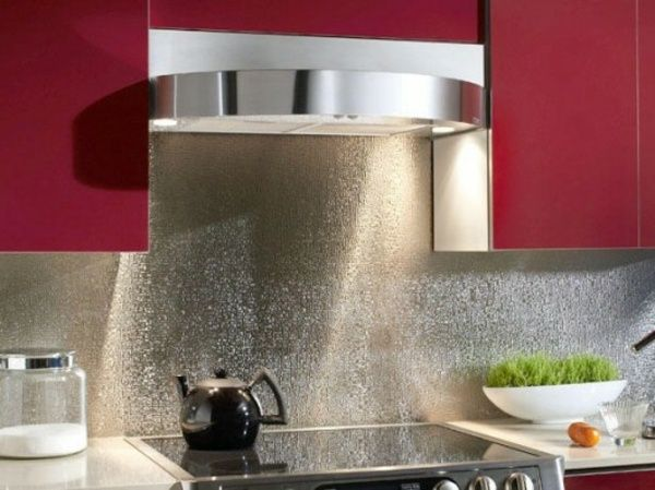 Die besten 25+ Spritzschutz küche selbst gestalten Ideen auf - spritzschutz folie k che