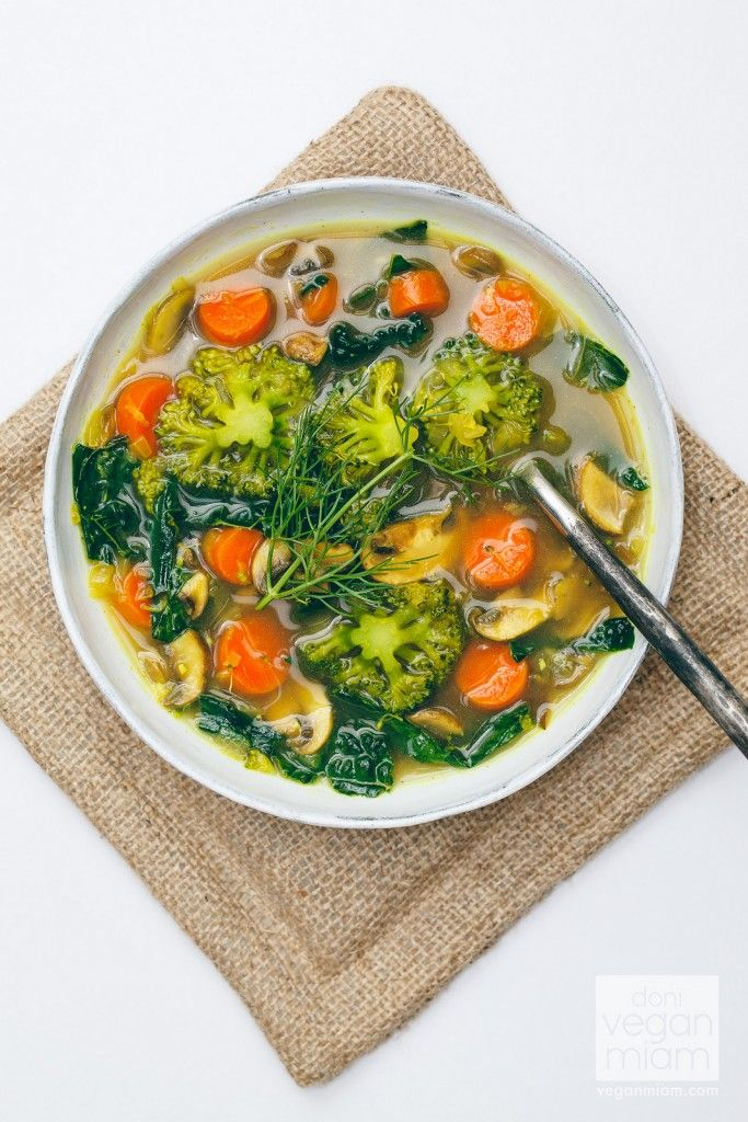 "I am now a fan of Oh She Glows' Eat Your Greens Detox Soup (Page 139, ""The Oh She Glows Cookbook: Over 100 Vegan Recipes to Glow from the"