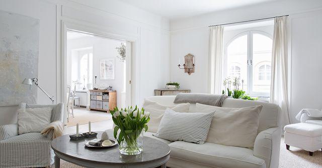 Nordic style e shabby chic per un bellissimo appartamento svedese | shabby and…