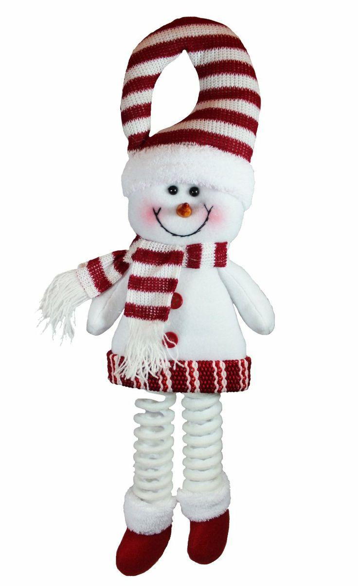 Plush Christmas Snowman Doorknob Decor Hanger - Christmas - kerstmis - holidays