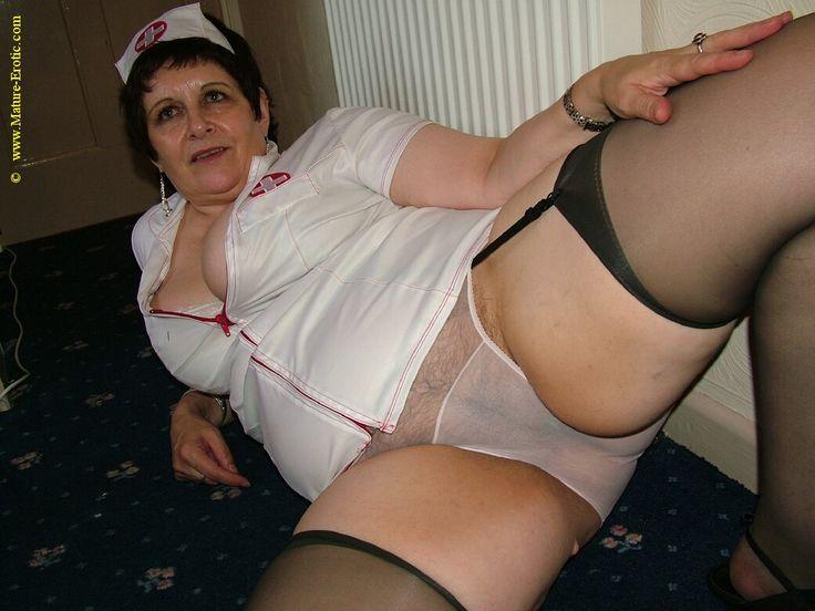 granny watching porn