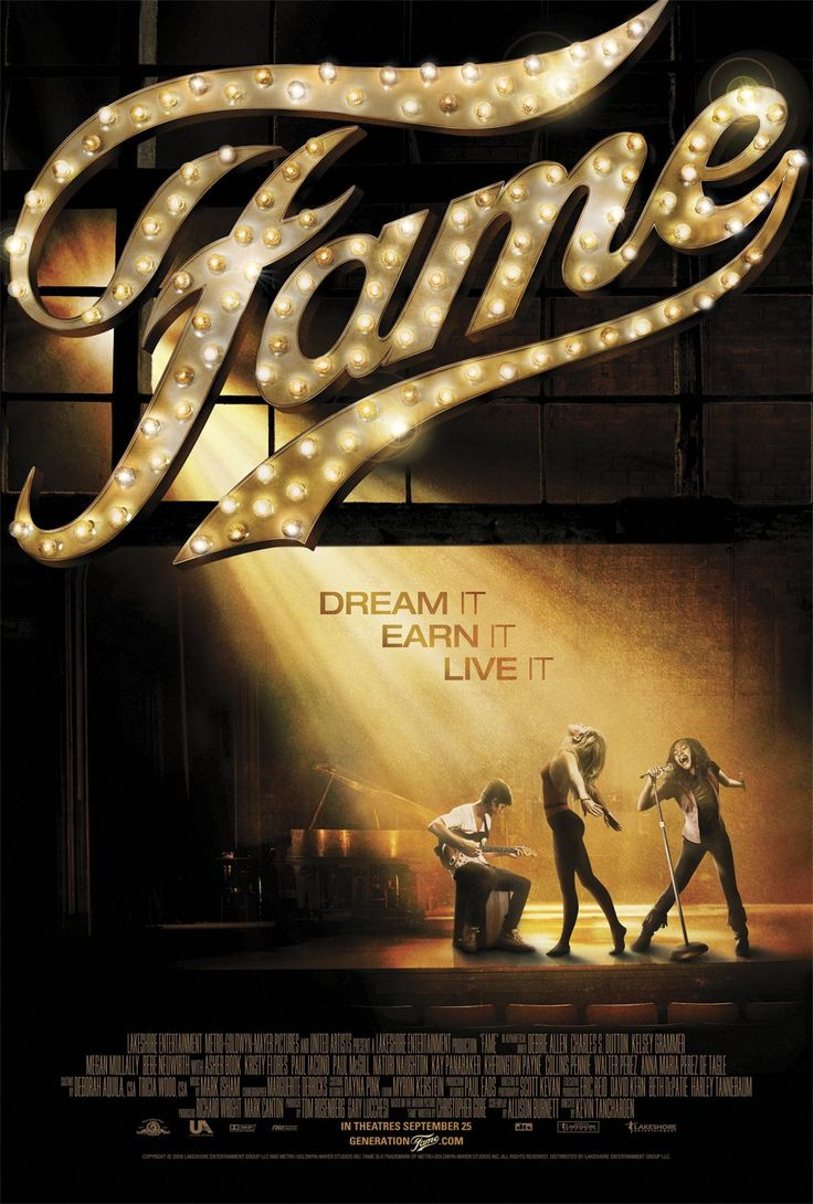 A chorus line with mara davi begins at marriott theatre - Fame Movie Poster Of