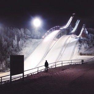 Lahden Hyppyrimäet / Lahti Ski Jump - Finland