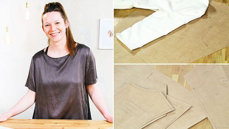 Schnitte von Kleidung abnehmen: Kopiere dein Lieblingskleid - Schnittkonstruktion lernen - Makerist Kurs