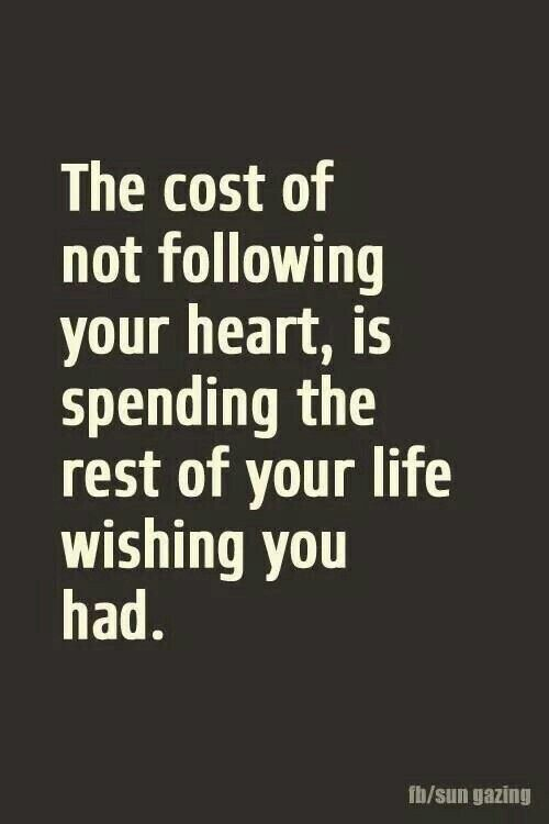 The cost of not showing your Heart....