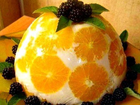 Сочный фруктовый пирог