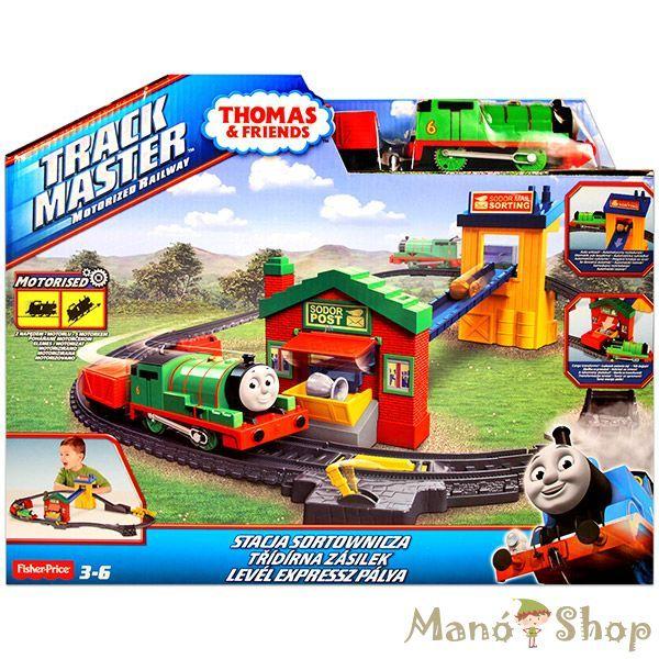 Thomas Track Master Percy Levél expressz pálya (BHY57)