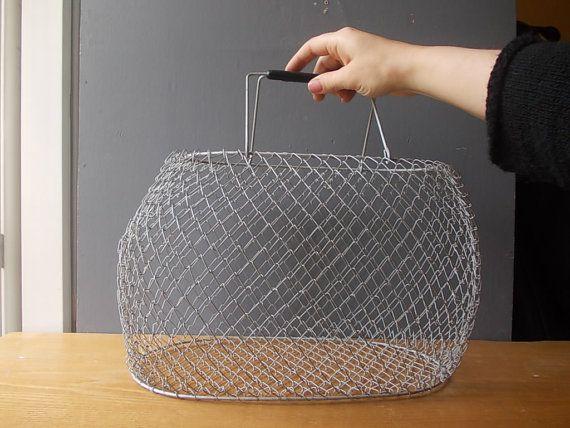 Best 25+ Vintage Wire Baskets Ideas On Pinterest