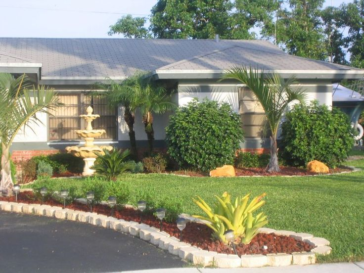 Florida landscaping ideas landscaping ideas garden for Home front landscape design