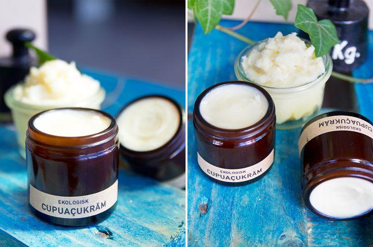 Gör din egen Cupuaçukräm, en riktigt bra fuktighetsbevarare för huden!
