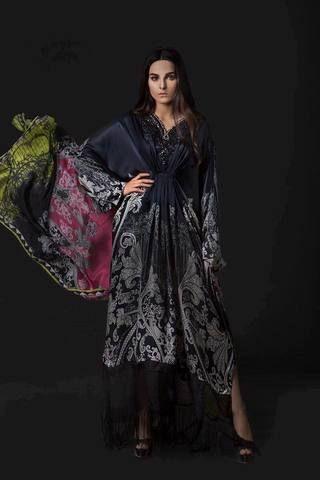 04b095cc94 Maria B Silk Suit, Ladies Replica Shop, Online Embroidered Dresses ...