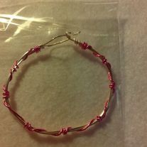 Here is a fun Kids or Teen  and so awesome for Adults bracelets.. It can just be something to talk about and having a unique item... one of a Kind