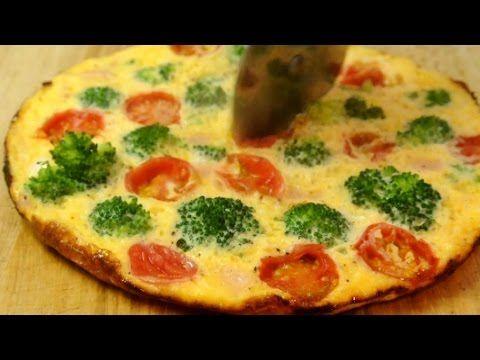 How to make easy open omelette - YouTube