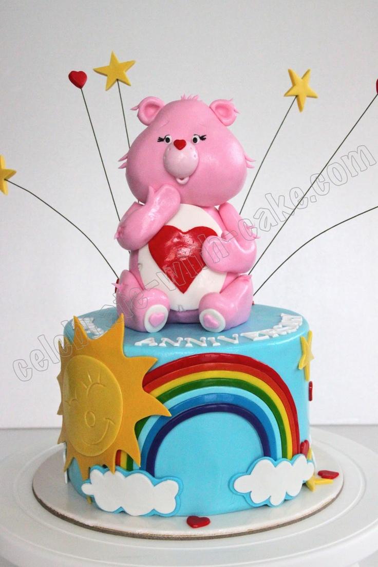 Celebrate with Cake!: Carebears Cake